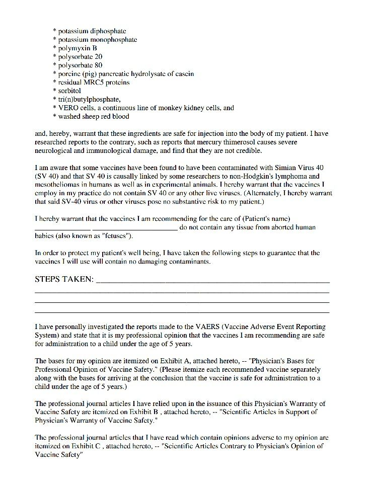 489 best HEALTH - 1 Vaccinations (r*) images on Pinterest Anti - vaccine consent form
