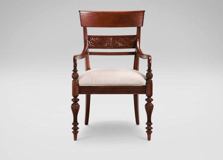 Buy Ethan Allens Mackenzie Armchair Or Browse Other Products In Arm Host Chairs