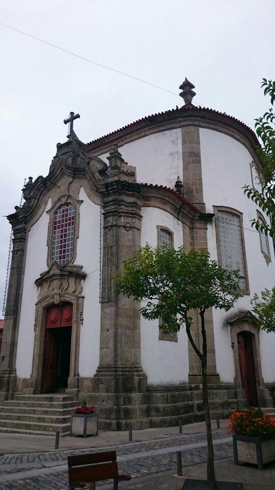 Igreija da praça da Lapa em Arcos de Valdevez