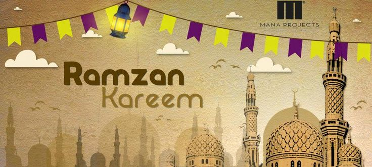 May This Ramadan be as bright as ever. May this Ramadan bring joy, health and wealth to you. Wish You Happy #Ramzan #Edi By Mana Projects
