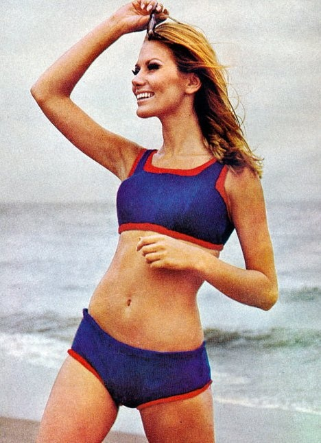 Sixties model Maud Adams