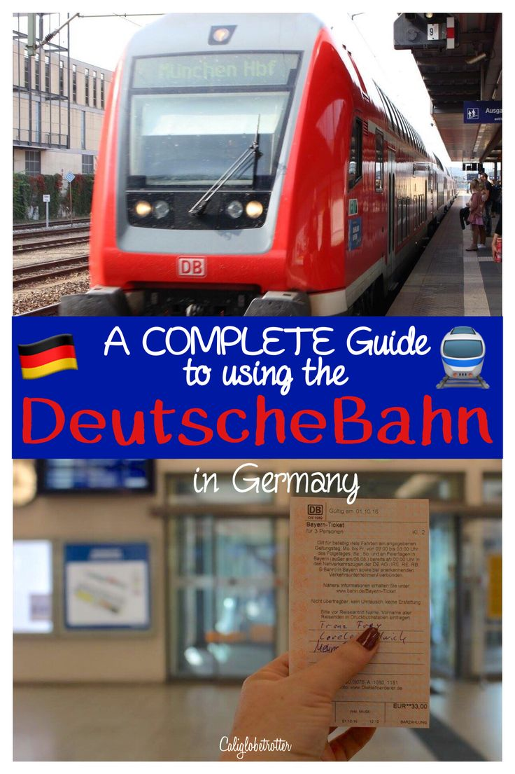 A COMPLETE Guide to using the DeutscheBahn in Germany - CaliforniaGlobetrotter