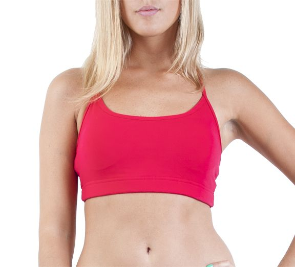 Lorna Jane Pammy Bra Scarlet - Ships within 24 hours of ordering! Find at onsport.com.au for just $59.95!