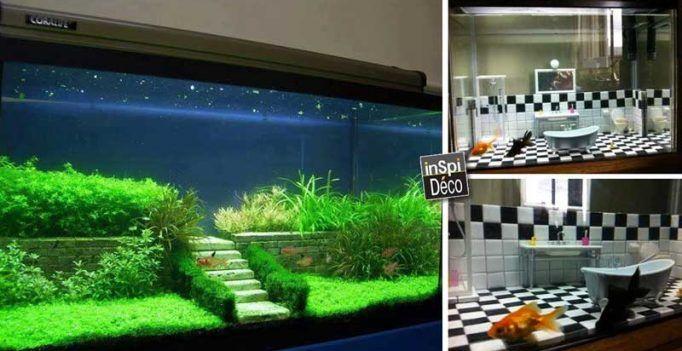 17 idées déco pour votre aquarium! Laissez-vous inspirer…