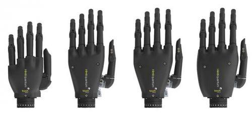 Les prothèses ne sont pas faites pour les humains... L'i-limb quantum de Touch Bionics, première prothèse de main qui permet d'attraper des objets d'un simple geste, est contrôlée par les signaux musculaires de l'utilisateur.
