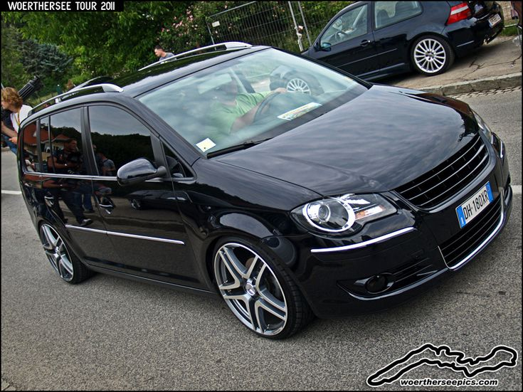 Black VW Touran | Flickr - Photo Sharing!