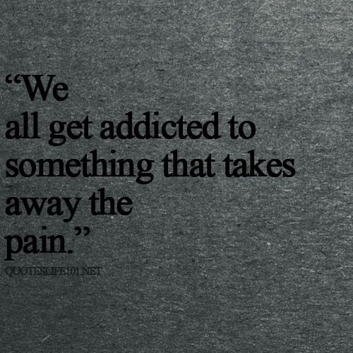 It's easy to point fingers at the drug addicts and those whose addictions seem to be more harmful. But in the end, we're all addicted to something. And we're all more similar than we'd like to admit. by Anna Isadar