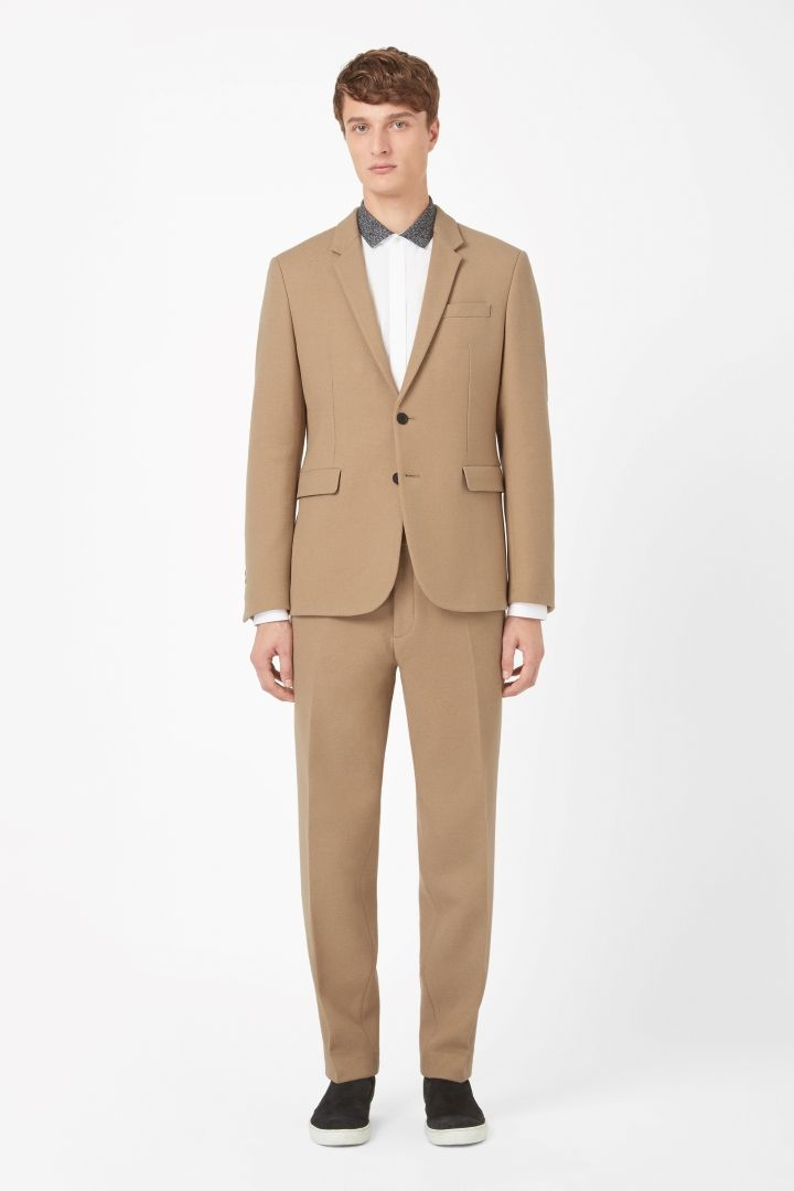 COS   Wool and cotton blazer