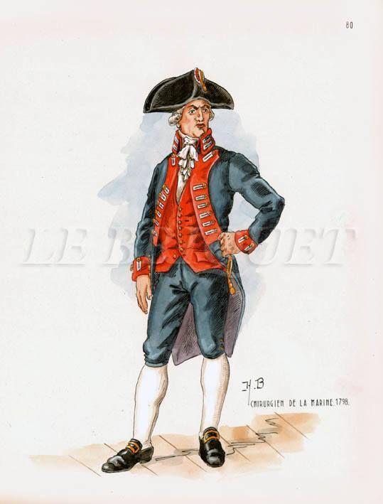 French; Chirurgien de la Marine, 1798