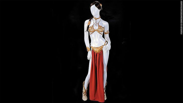 El traje de bikini de la princesa Leia, a subasta | CNNEspañol.com