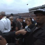 50 Cent and Fox's Erin Andrews awkward kiss; 50 rejected?
