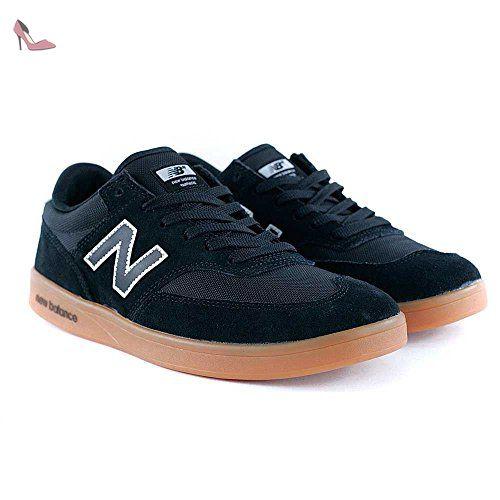 NEW BALANCE numérique Allston (Boston) 617Noir/gum/Blanc Chaussures, noir, UK8 - Chaussures new balance (*Partner-Link)