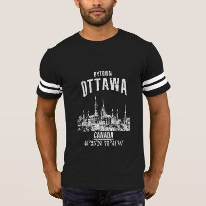 Ottawa T-Shirt  $31.65  by KDRTRAVEL  - cyo diy customize personalize unique