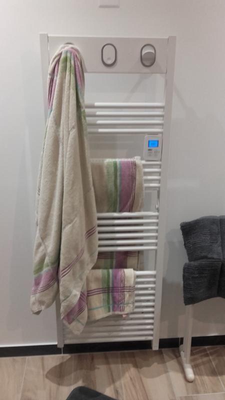 Sèche Serviettes électrique à Inertie Fluide Sauter Marapi 750 W