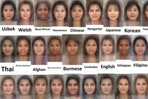 Puerto rican man characteristics of Facial