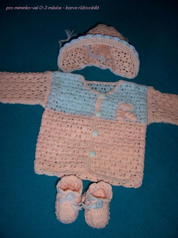 miminkovská soupravička-vlastní tvorba