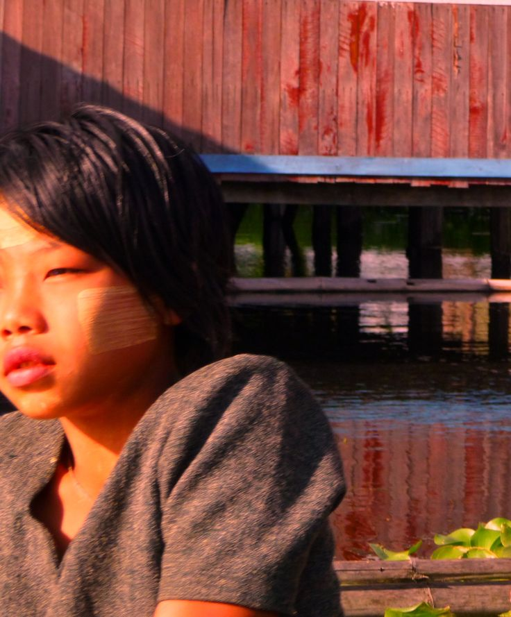 Lake Inle gorgeous Burmese girl http://www.trailsofindochina.com/destination/myanmar by @supastylinh