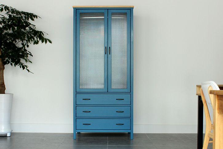 더스트 블루 옷장, http://woodcabinet.co.kr/web/upload/living/cabinet/dust%20blue%20cabinet/dust-blue-cabinet-in.jpg
