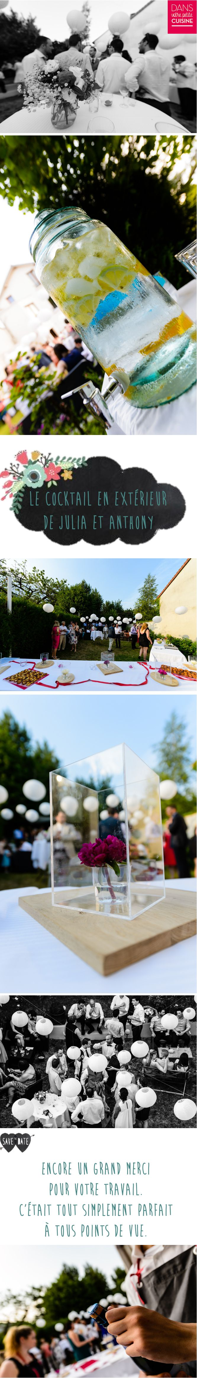 cocktail mariage en extrieur chef domicile traiteur original color - Traiteur Mariage Pas Cher Ile De France