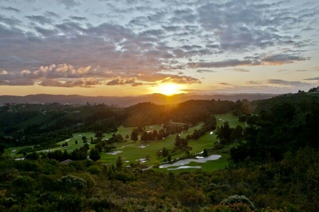 Sunset Simola golf course Knysna