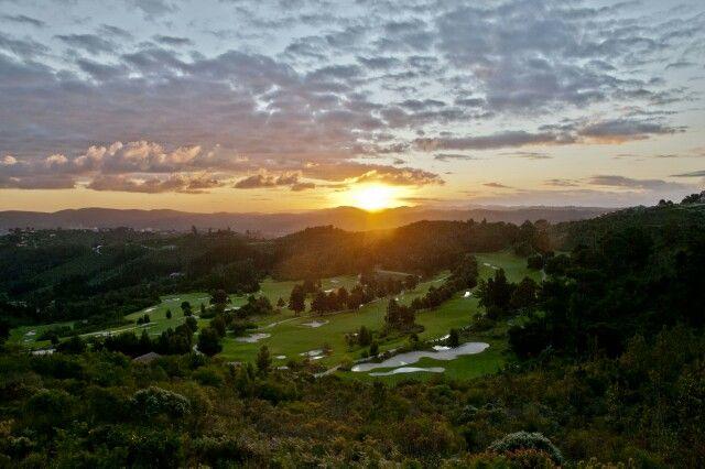 Sunset Simola golf course Knysna