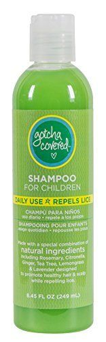 $8.24 (50% Off) on LootHoot.com - All Natural Head Lice Prevention Head Lice Shampoo for Adults and Kids, by Gotcha Covered