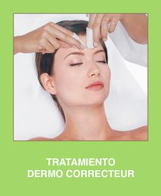 Dermo Correcteur Treatment. OILY OR VERY OILY SKIN Dermo Contrôle is an effective skin care program to normalize an oily t-zone while combating dehydration. It also seriously addresses acne and control bacteria formation. Purifying and healing ingredients unite to eliminate blemishes and unclog pores.