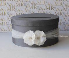 Wedding Card Box Money Wishing Well Custom By Jamiekimdesigns