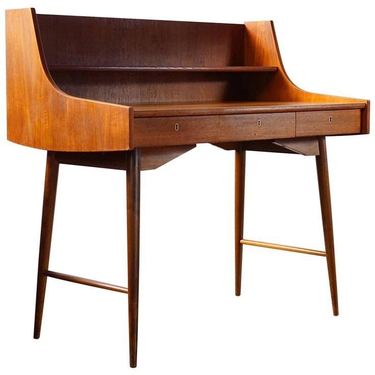 Ola Desk by John Texmon | From a unique collection of antique and modern desks at https://www.1stdibs.com/furniture/storage-case-pieces/desks/