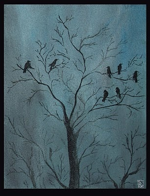 Flock of crows~
