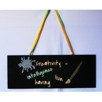 Feathermoon Design - Handmade Signs - Creativity #1