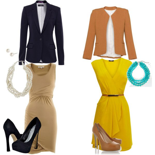 Dresses at work! The easy outfits!,