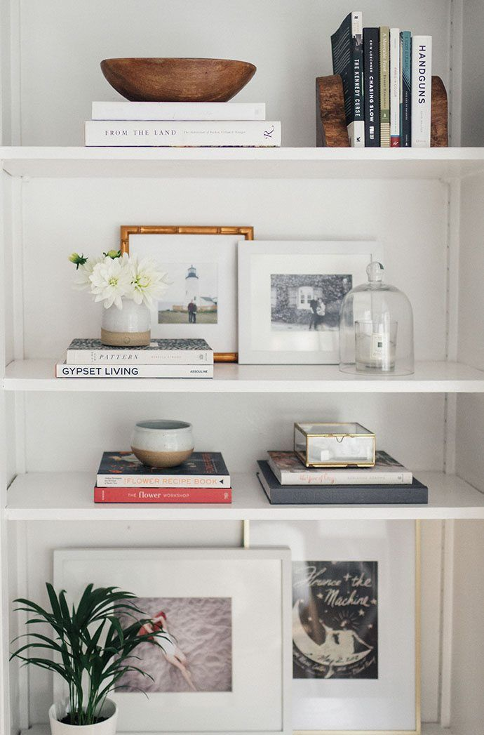 Let Your Inner Interior Design Shine When You Style Your Built In  Bookshelves With Chic