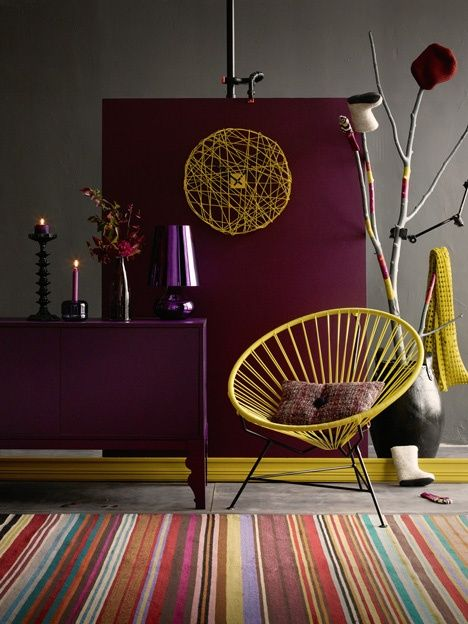 Marsala Pantone Color Of The Year 2015 Interior Decor Design Ideas