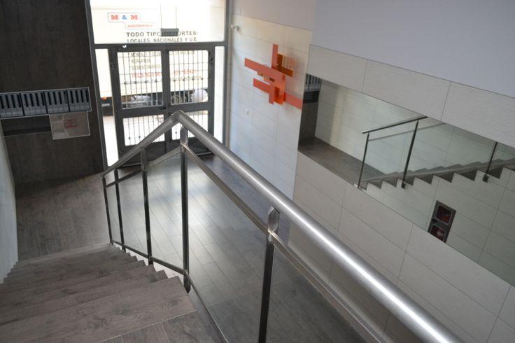 El Estudio de Arquitectura de Francisco Monente se ha especializado en Rehabilitación de edificios en la calle Aoiz 10, Pamplona