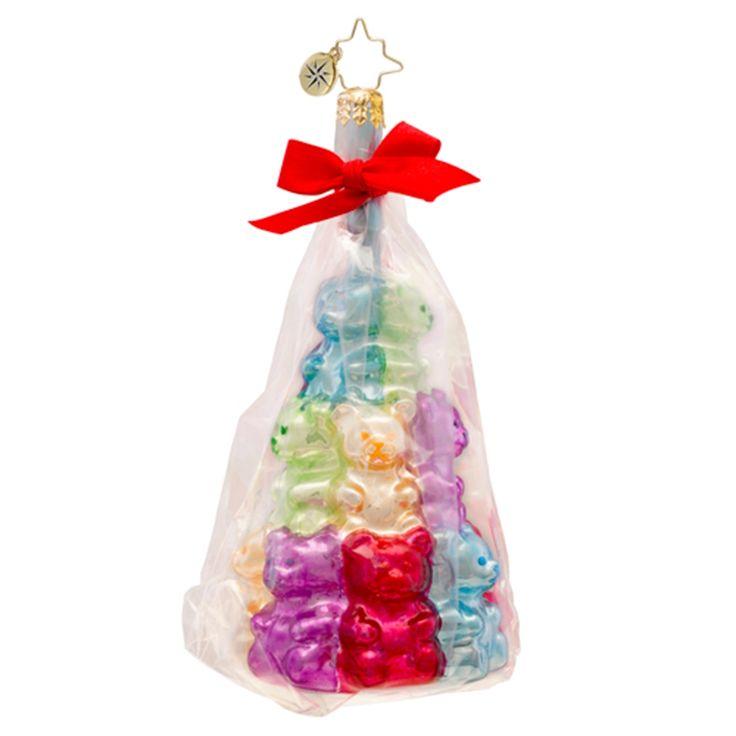 Christopher Radko Ornaments 2014 | Radko Ornament Gummy Bear Grab Bag