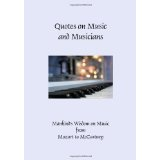 Quotes on Music and Musicians (Hardcover) (Hardcover)By Patty Crowe