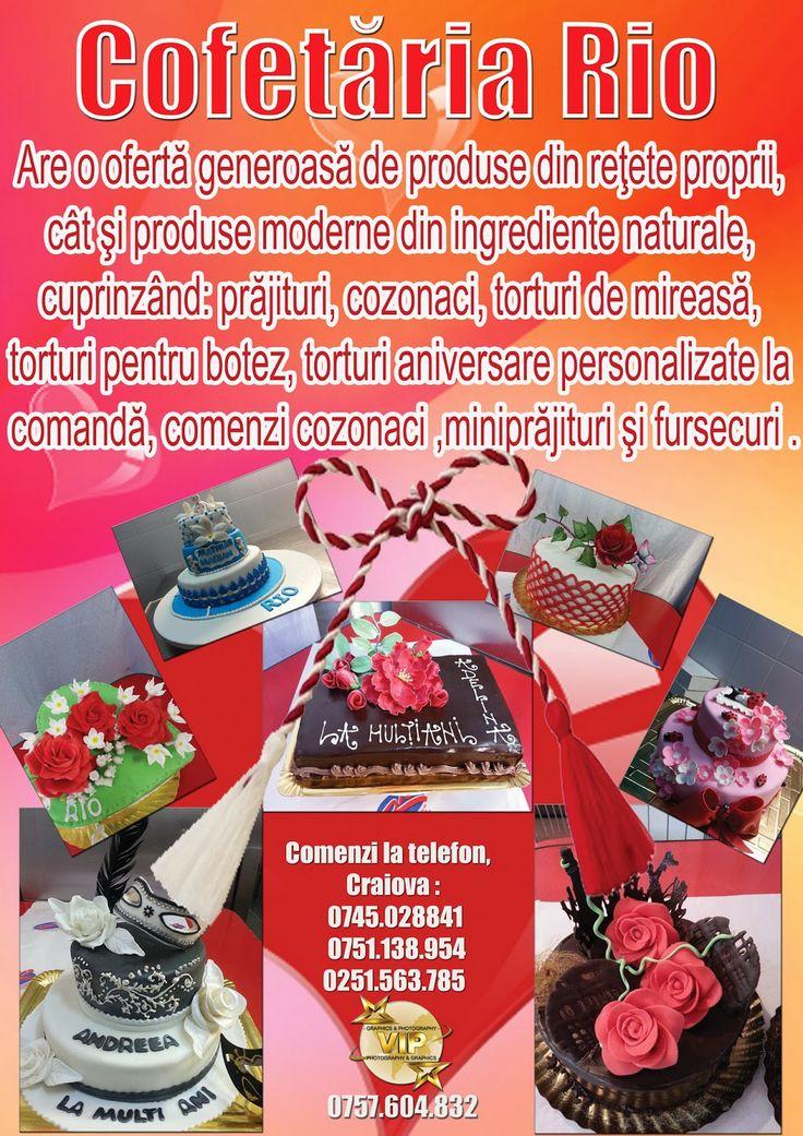 """Nunta de vis""""O nuntă magică, un vis perfect"""": Cofetaria Rio Craiova"""