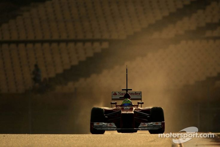 F1 afternoon glow