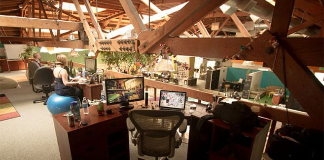 22 Gorgeous Startup Offices You Wish You Worked In or why I need a giant budget for refurbishing our office spaces