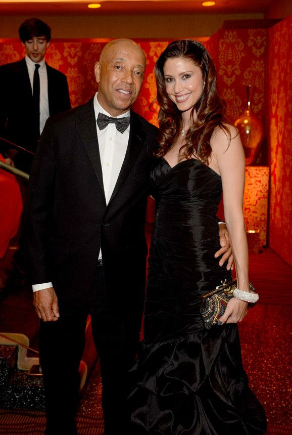 The HBO and Governors Ball 2014 Emmy Awards After-Parties – Russell Simmons and Shannon Elizabeth