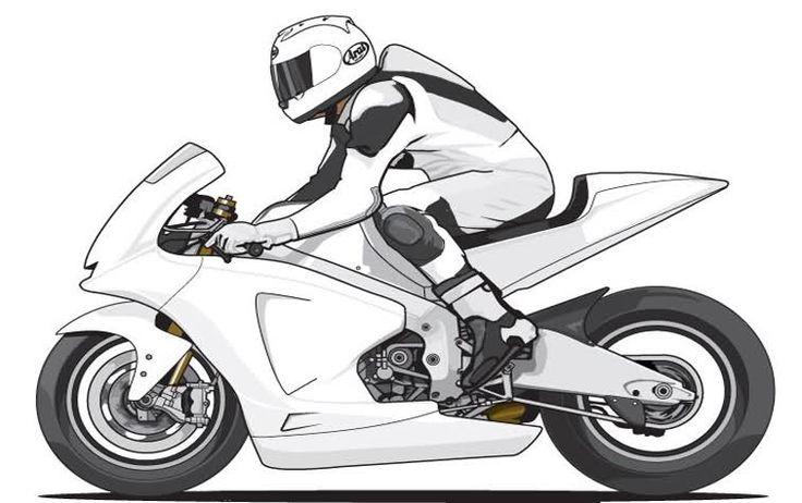 Dibujos De Motos Para Colorear E Imprimir   motos en 2018 ...