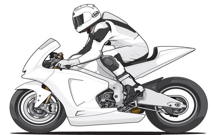 Dibujos De Motos Para Colorear E Imprimir: 17 Best Images About Motos On Pinterest