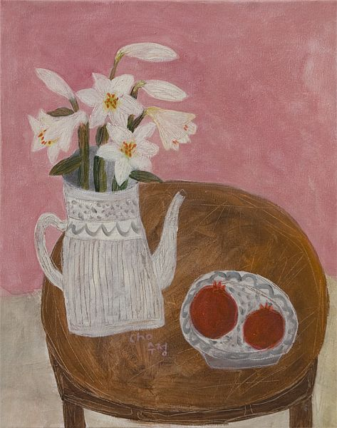 lily and pomegranates, Soojung Cho