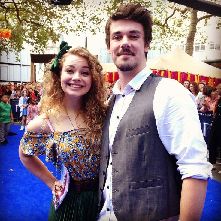 Carrie Hope Fletcher and Pete Bucknall
