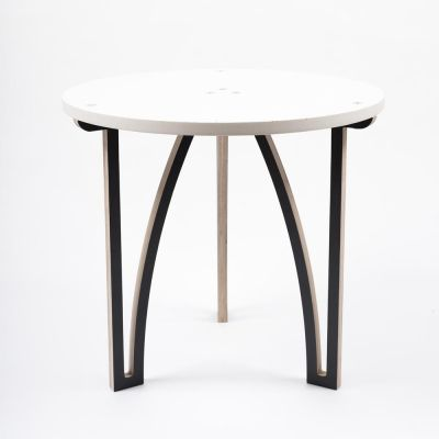 Stolik+-+śnieżnobiały // Projekt+B25