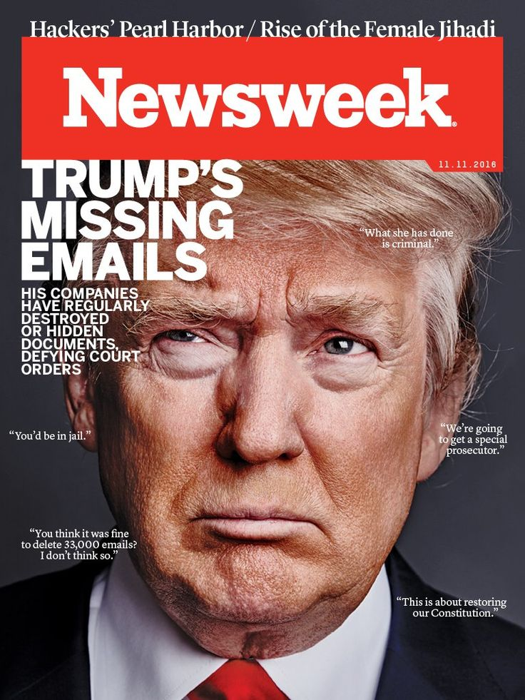 Trumps emails, such irony ...Nov. 11, 2016