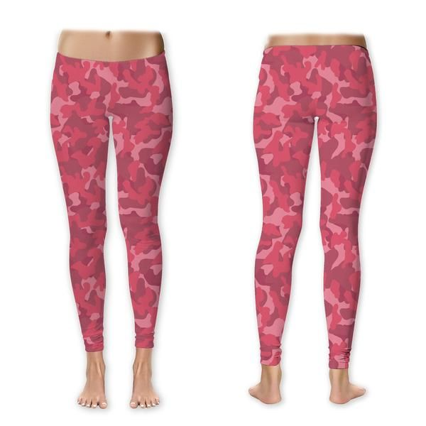 Jake Paul Pink Camo Leggings