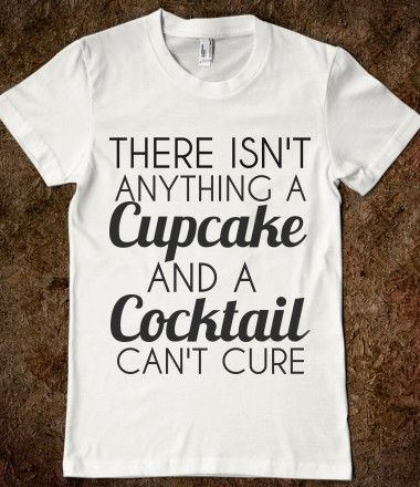 CUPCAKE AND A COCKTAIL