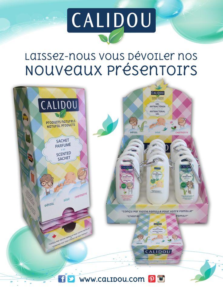 Présentoirs sachets parfumés & gels antibactériens